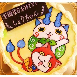 ジバニャンのイラストクリスマスケーキは早めに誕生日はokかも